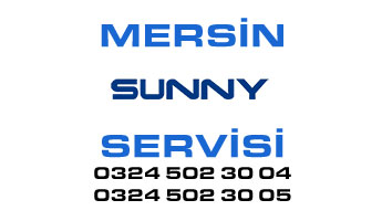 mersin sunny servisi